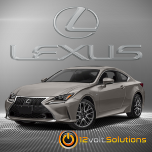 2014-2019 Lexus RC-F Plug & Play Remote Start Kit (Push Button Start)