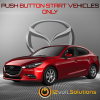 2014-2018 Mazda 3 Plug & Play Remote Start Kit (Push Button Start)