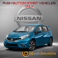 2014-2019 Nissan Versa Note Remote Start Plug and Play Kit (Push Button Start)