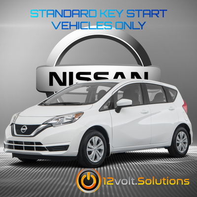 2014-2018 Nissan Versa Note Remote Start Plug and Play Kit (Standard Key)