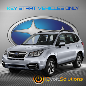 2014-2018 Subaru Forester XT Plug & Play Remote Start Kit (Key Start)