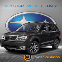 2019-2020 Subaru Forester Plug and Play Remote Start Kit (Key Start)