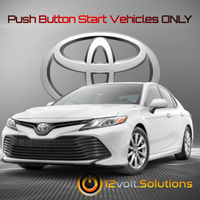 2014-2018 Toyota Corolla Plug & Play Remote Start Kit (Push Button Start)