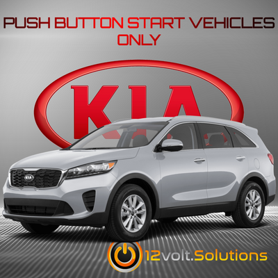 2014-2020 Kia Sorento Remote Start Plug and Play Kit (Push Button Start)