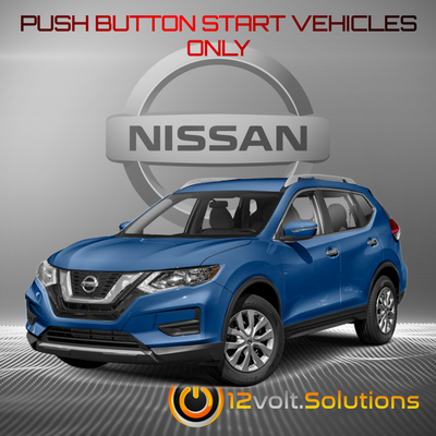 2014-2020 Nissan Rogue Plug & Play Remote Start (Push Button Start)