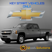 2014 Chevrolet Silverado 2500/3500 Plug & Play Remote Start Kit (Key Start)