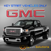 2014 GMC Sierra 2500/3500 Plug & Play Remote Start Kit (Key Start)