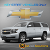 2015-2016 Chevrolet Suburban Plug & Play Remote Start Kit (Key Start)