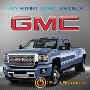 2015-2016 GMC Sierra 2500 3500 Plug & Play Remote Start Kit (Key Start)