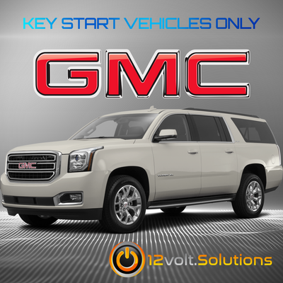 2015-2016 GMC Yukon Plug & Play Remote Start Kit (Key Start)