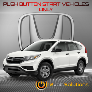 2015-2016 Honda CR-V Plug & Play Remote Start Kit (Push Button Start)