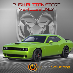 2015-2017 Dodge Challenger Plug & Play Remote Start Kit (Push Button Start)