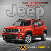2015-2017 Jeep Renegade Plug & Play Remote Start Kit (Push Button Start)