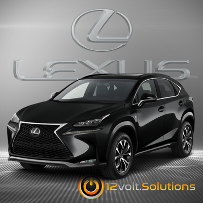 2015-2017 Lexus NX200t Plug & Play Remote Start Kit (Push Button Start)