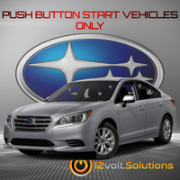 2015-2016 Subaru Legacy Plug and Play Remote Start Kit (Push Button Start)