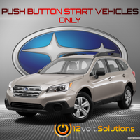 2015-2016 Subaru Outback Plug and Play Remote Start Kit (Push Button Start)