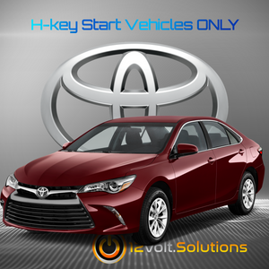 2015-2017 Toyota Camry Plug and Play Remote Start Kit (H-Key)