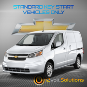 2015-2018 Chevrolet City Express Remote Start Plug and Play Kit (Standard Key)