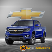 2015-2016 Chevrolet Colorado Plug & Play Remote Start Kit (Key Start)