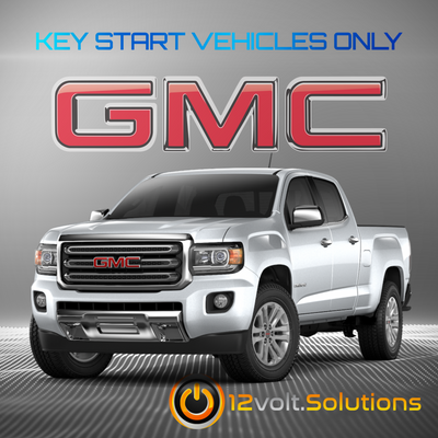2015-2016 GMC Canyon Plug & Play Remote Start Kit (Key Start)
