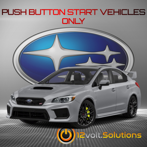 2015-2018 Subaru WRX Plug and Play Remote Start Kit (Push Button Start)