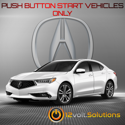 2015-2019 Acura TLX Plug & Play Remote Start Kit (Push Button Start)