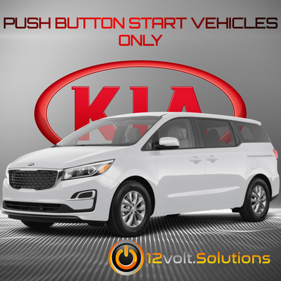 2015-2021 Kia Sedona Remote Start Plug and Play Kit (Push Button Start)
