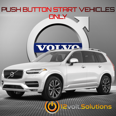 2015-2019 Volvo XC90 Remote Start Kit