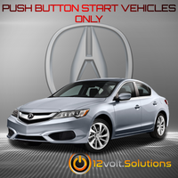2016-2017 Acura ILX Plug & Play Remote Start Kit (Push Button Start)