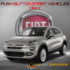 2016-2017 Fiat 500x Plug & Play Remote Start Kit (Push Button Start)