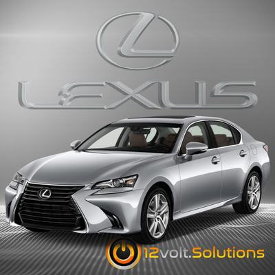 2016-2017 Lexus IS200t Plug & Play Remote Start Kit (Push Button Start)