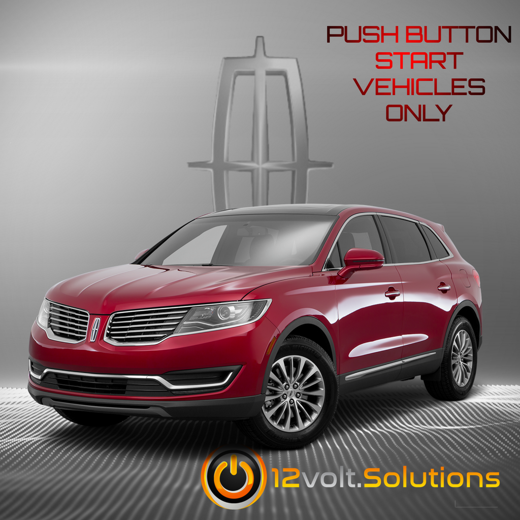 2016-2017 Lincoln MKX Remote Start Plug and Play Kit (Push Button Start)