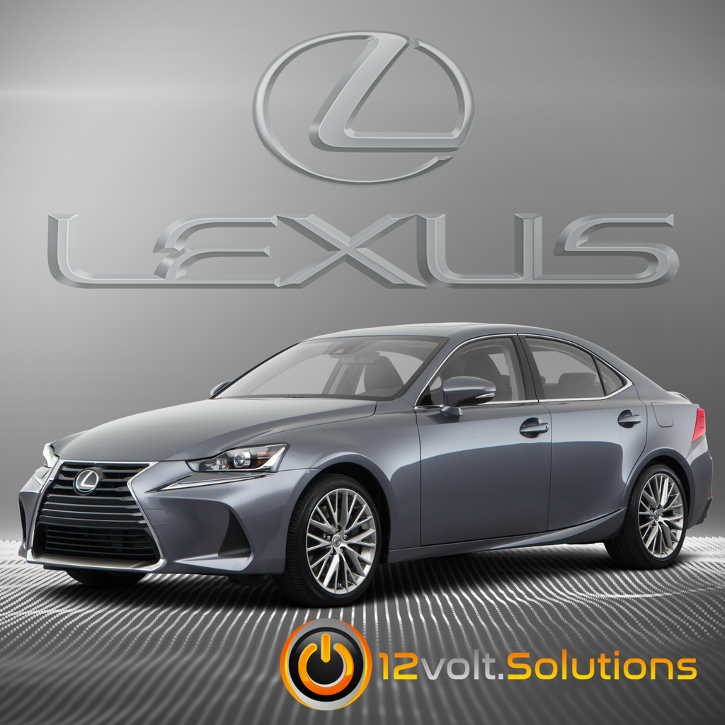 2016-2018 Lexus IS300 Plug & Play Remote Start Kit (Push Button Start)