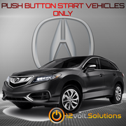 2016-2018 Acura RDX Plug & Play Remote Start Kit (Push Button Start)