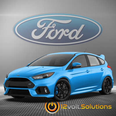 2016-2018 Ford Focus Remote Start Plug and Play Kit