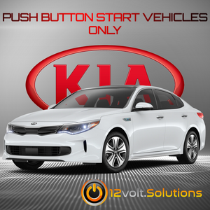 2016-2020 Kia Optima Remote Start Plug and Play Kit (Push Button Start)