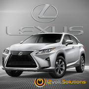 2016-2019 Lexus RX350 Plug & Play Remote Start Kit (Push Button Start)