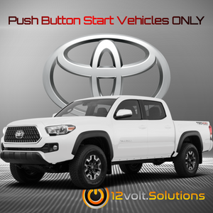 2016-2019 Toyota Tacoma Plug & Play Remote Start Kit (Push Button Start)