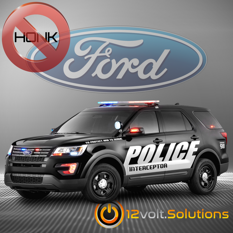 2016-2019 Ford Explorer POLICE INTERCEPTOR Remote Start Plug and Play |  12Volt.Solutions | Ford Interceptor Utility Wiring Harness Kits |  | 12Volt.Solutions