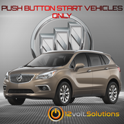 2017-2018 Buick Envision Plug & Play Remote Start Kit (Push Button Start)