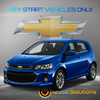 2017-2018 Chevrolet Sonic Plug & Play Remote Start Kit (Key Start)