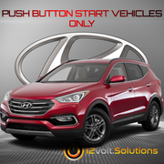 2013-2016 Hyundai Santa Fe Remote Start Plug and Play Kit (Push Button Start)