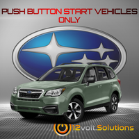 2014-2018 Subaru Forester XT Plug and Play Remote Start Kit (Push Button Start)