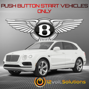 2017-2018 Bentley Bentayga Plug and Play Remote Start Kit