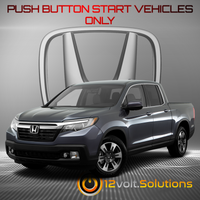 2017-2018 Honda Ridgeline Plug & Play Remote Start Kit (Push Button Start)