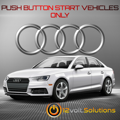 2017-2020 Audi A4 Plug and Play Remote Start Kit