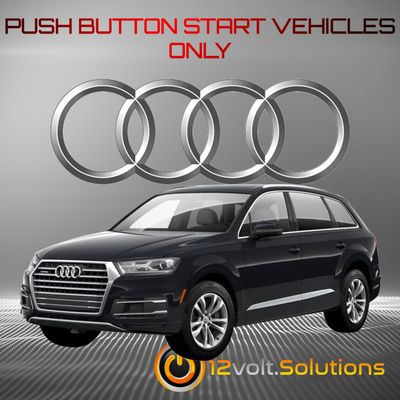 2017-2021 Audi Q7 Plug and Play Remote Start Kit