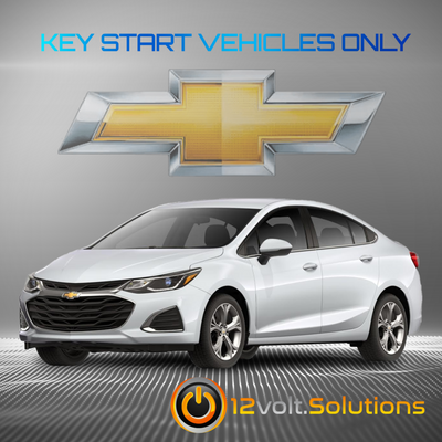 2017-2019 Chevrolet Cruze Plug & Play Remote Start Kit (Key Start)