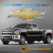 2017-2019 Chevrolet Silverado 2500 3500 Plug & Play Remote Start Kit (Key Start)