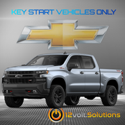 2017-2020 Chevrolet Silverado 1500 Plug & Play Remote Start Kit (Key Start)